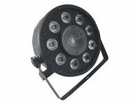 Wholesale Factory Mini Slim Par Partable Stage Lighting W W RGB in1 Par Can Ch Sound Control DMX512 Mini Plastic Par Cam