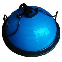 Wholesale Half Fitness Yoga Bosu Ball Fitball Balance Trainer Stabilizer GYM Pilates Fitness Balancing Bosu Ball