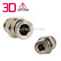 Wholesale High Quality D printer remote feed tube interface E3D remote inlet port connector Teflon tube adapter Use for mm mm