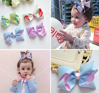 baby hair clippies - Fashion Baby Contrast Color Hair Clip quot Stereo Double Layer Butterfly Clippies Colors Selection