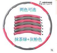 Wholesale Removable foam massage hula hoop ring thin waist slimming soft fitness tool Thin waist weight loss fitness equipment