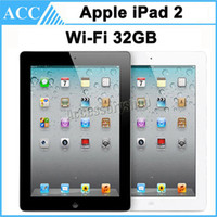 Wholesale Refurbished Original Apple iPad GB WIFI inch IOS A5 Warranty Included Black And White Free DHL