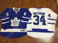 authentic apparel - 2016 New Toronto Maple Leafs Ice Hockey Jerseys Hockey JerseyBlue White Green Authentic Stitched Athletic Outdoor Apparel