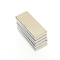 Wholesale 5pcs x x mm Very Strong Neodymium Block Magnets N52 Grade Craft DIY Powerful Permanent Magnet Hard to apart away