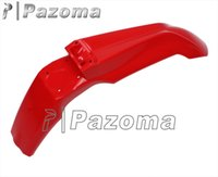 Wholesale PAZOMA High Quality Universal Supermoto Motorcycle Red Front Fender Mudguard For KTM XC SX