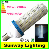 led light bulb 100w - High Lumen E27 E39 E40 LED Corn light Bulbs w w w w w w w W SMD2835 garden warehouse parking lamps