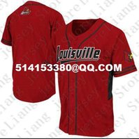 Wholesale Personalized Mens Young Women kids LOUISVILLE CARDINALS Baseball Jersey custom any number any name Red white Stitched Jerseys
