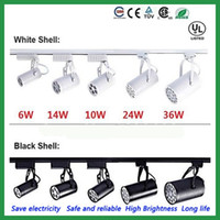 Wholesale DHL Led Track Light W W W W W Beam angle cold Warm white Led Ceiling Spotlight AC V led spot lighting