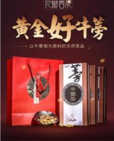 beef chinese - Chinese flower petal golden burdock tea gift boxes of beef buns special grade burdock root fresh burdock tablets buy get