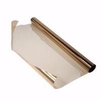 Wholesale 20 Car Side Window Sunshade One Way Mirror Film Reflective High Quality Window Tint Film Dark Car Styling