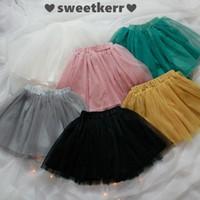 Cheap Children Skirt girls lace tulle tutu skirt Children Clothes kids sweet dress INS new children princess skirt 6 colors A8848