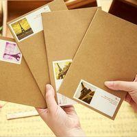 Wholesale 2016 new korean office school supplies retro vintage notebook note book notepad sketchbook paper diary