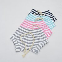 Wholesale 2016 Summer INS Baby Shorts Cotton Kids PP Pants Newborn Baby Infant Clothing Striped Pants Shorts Leggings Baby Clothes Kids Harem Pants