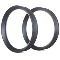 Wholesale V SHAPE ER FATBIKE CARBON RIMS MM WIDTH TUBELESS COMPATIBLE WITH CLINCHER