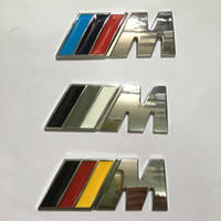 abs metal logo - Car styling Metal NOT ABS M Power Motorsports Logo Auto Car Sticker Emblem Badge Decoration for BMW E Z X M3 M5 M6 Mline BMW M