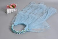 Wholesale hot sale children s wreath charm bridal veil bridal veils Taking pictures Wedding accessories veil vb