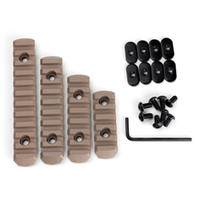 Wholesale JouFou Tactical AR Accessory Multipurpose Polymer Picatinny Rail Section Kit For Handguards L5 L4 L3 L2 Sizes