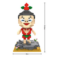 auction chinese - LOZ Dianomd Blocks Chinese Cartoon snake Nanoblocks DIY Building Toys Chinese Anime Auction Minifigure Juguetes for Kids Toys9627