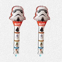 Wholesale inch Star Wars balloons the force awakens foil balloon party foil decoration baloons kids toy