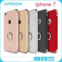 metal bracket - JOYROOM Metal Hybrid Case Cover Ultra Slim In1 Plating Frosted Armor Case with Ring Bracket For Iphone plus S plus S SE
