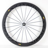 Wholesale A pair carbon wheels mm clincher or tubular c full carbon wheelset bicycle wheels with