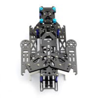american electric motor - New EMAX Transformer Carbon Fiber Quadcopter Kit Frame BLUE frame natural fiber american fiber american
