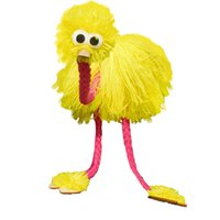 animal hand puppet muppets - Marionette Doll Muppets Animal muppet hand puppets toys wool rope ostrich Birl Marionette doll for kids wooden puppet doll toy