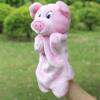 baby pigs sale - Hot Sale Kawai Hand Puppet Peggy Pig Dolls Baby Plush Puppet Best Doll Toys Gifts For Baby Kids