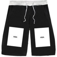 air worsted - HBA shorts leisure lovers five colors XL Hood By Air HBA big box Europe PYREX brand of hip hop basketball pants casual fashion sports short