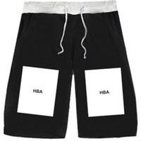 big five sports - HBA shorts leisure lovers five colors XL Hood By Air HBA big box Europe PYREX brand of hip hop basketball pants casual fashion sports short