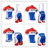 Wholesale 2016 Tour de France Team Cycling Jersey Cycling Clothing Cycling Wear Shorts Bib Shorts Suit White Red Blue Size XS XL Bike Wear