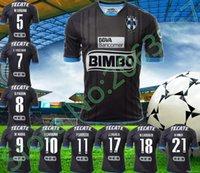 Wholesale 2016 Soccer Jersey Monterrey camisetas de futbol Monterrey Mexico Football Clothes W GARGANO R FUNES MORI D PABON Maillot footbal shirt