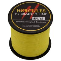 Wholesale Hercules Strands M Braided Fishing Line Weave Superior Extreme PE Saltwater Super Strong Fishing