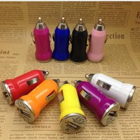 Cheap USB Bullet Mini USB car charger Best Micro-USB DC12v Car charger bullet mini car charge