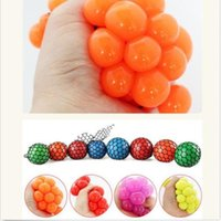 Wholesale PC Anti Stress Face Reliever Grape Ball Autism Mood Squeeze Relief Healthy Toy Funny Geek Gadget for Men Halloween Jokes