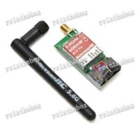 av mic - New ImmersionRC FPV Ghz mW AV Transmitter for G FatShark DJI Phantom transmitter mic transmitter iphone