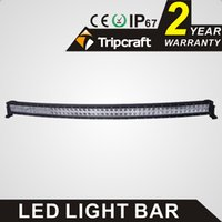 Wholesale High quality curved LED light bar inch W led work light bar LED curved light bar cree chip floodlight beam for offroad