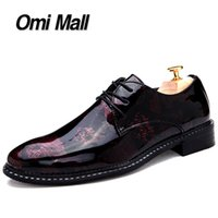 best men s dress shoes - Best New Pointed Toe Men Oxfords Leathers Shoes High Quality Men Leather Shoes Fashion Printing Lace Up Men Dress Leather S