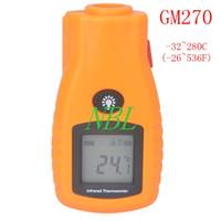 audi contact - D S GM270 Non Contact Infrared Laser Temperature Measurement Digital LCD Mini Thermometer C F Emissivity