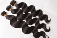 Wholesale New Products pieces Synthetic Fiber Hair Body wave Hair Extension quot quot Weaving Hair Premium Quality Hair Extensions