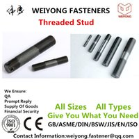 Wholesale Threaded Stud Bolt M8 M20 OEM Made By China Yongnian Rapid delivery Can be customized Factory outlets