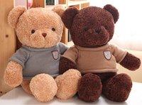 Cute peluche en peluche ours en peluche poupée poupée 50cm cadeau anniversaire de la Saint-Valentin pour envoyer des filles Livraison gratuite