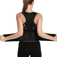 Wholesale New Fully Adjustable Back Brace for Posture Correction Back Pain Support Neoprene Unisex Medical Grade Body Support Corrector