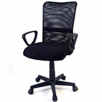 Wholesale New Mid back Adjustable Ergonomic Mesh Swivel Computer Office Desk Durable Chair