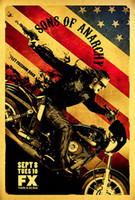 Wholesale 067 Sons of Anarchy TV Series Art Silk Poster x36inc1