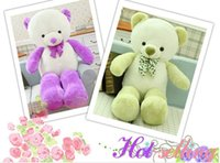 Wholesale 100cm plush stuffed animal giant teddy bear life size candy bear christmas gift with high quality bmnuyv6ku