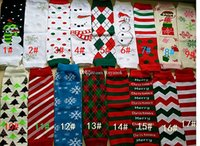 Wholesale New cm Baby Christmas Leg Warmer Baby Chevron Leg Warmers infant colorful leg warmer Baby socks Legging Tights Leg Warmers Mixed choosec