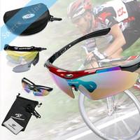 ROBESBON Polarized Cycling Lunettes de soleil Sports de plein air Bicyclette Lunettes de soleil de vélo Hommes Femmes Running Ski Goggles Lunettes avec 5 lentilles