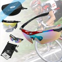 Wholesale ROBESBON Polarized Cycling SunGlasses Outdoor Sports Bicycle Bike Sunglasses Men Women Running Ski Goggles Eyewear with Lens