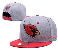 arizona caps - price Cardinals Arizona snapback Caps Adjustable Football Snap Back Hats Black Snapbacks High Quality Players Sports